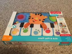 Fisher-Price Kick and Play Piano Infant Tiger Music Lights D