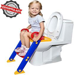 FLASH SALE   Potty Toilet Seat with Step Stool Ladder   Port