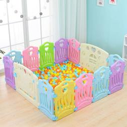 Foldable Baby Playpen Kids Activity Centre Safety Play Yard