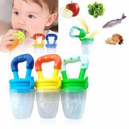 Toddler Baby Food Feeding Net Pocket Fresh Fruit Feeder Nibb