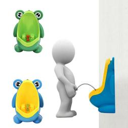 frog potty toilet training baby portable urinal