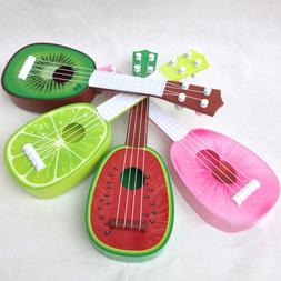 Fruit Musical Guitar Ukulele Children Music Toy Educational