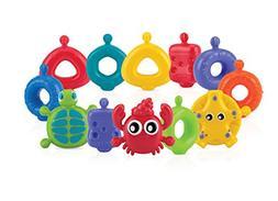 Nuby 15-Piece Fun Bath Links Toy