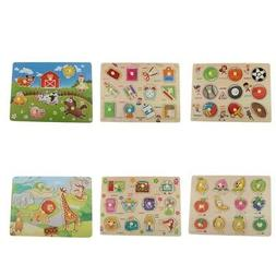 Funny Puzzle Jigsaw Board Educational Toys Baby Toddlers Fin