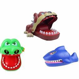 Game Bite Finger Crocodile Shark Bulldog Spoof Dentist Toys