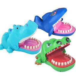 Game Bite Finger Toys Crocodile Shark Bulldog Teeth Spoof Fu