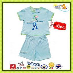 GENUINE AUS LICEN-Care Bears Baby/Toddler Boys Summer 2Pce S