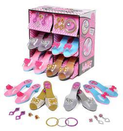 Girls Dress Up Shoes Princess Jewelry Accessories Pretend Pl