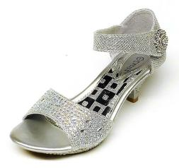 Girls' Fashion Ankle Strap Dress Shoes size 10, 11, 12, 13,