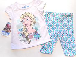 Girls outfits Frozen Disney Princess Tops Shirts Baby Clothe