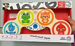HAPE Baby Einstein Magic Touch Drums BNIB Wood Toy Toddler M