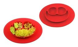 Happy Mat silicone plate stable bowl Toddler infant kids bab