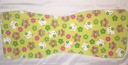 Hello Kitty Patterned Flannel Burp Cloth for Girl - Large -