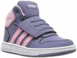 Adidas HOOPS 2.0 MID INFANT & TODDLER ESSENTIALS SHOES F3583