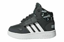 Adidas HOOPS 2.0 MID INFANT TODDLER ESSENTIALS SHOES F35843