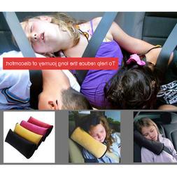 Hot Car Seat Belt Shoulder Pad Cover Pillow Head Support Res