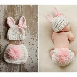 hot newborn baby crochet knit costume photo