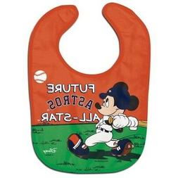 Houston Astros Baby Bib Disney Mickey Mouse Feeding Infant M