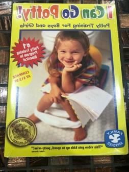 I CAN GO POTTY! POTTY TRAINING FOR BOYS AND GIRLS NEW DVD