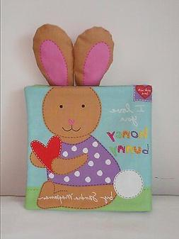 I Love You Honey Bunny - Soft Cloth Books for Baby, Children
