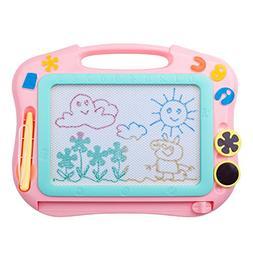 ikidsislands IKS85P  Color Magnetic Drawing Board for Kids,