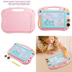 IKS85P Travel Size Color Magnetic Drawing Board For Kids Doo