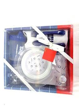 Indianapolis Colts Football Baby Bottle Toddler Dishes Silve