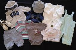 Baby Gap Infant boys NB 0-3 Months Clothing Outfits Lot