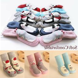 Infant Care Flats Soft Slippers Toddler Indoor Sock Kids Boo