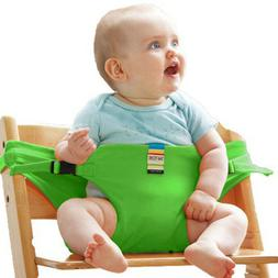 Infant Chair Portable Seat Dining Lunch Safety Belt Stretch