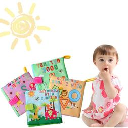 Infant Cloth Book Baby Cognition Learning Book Toddler Early