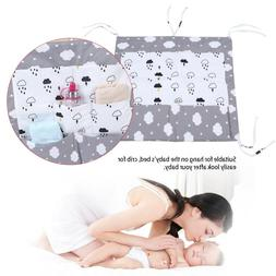 Infant Kid Nursery Crib Bed Diaper Nappy Clothes Hanging Sto