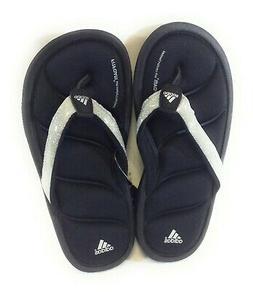 Infant Toddler Girls Sz 13 Adidas Chilwyanda Black Silver Fl