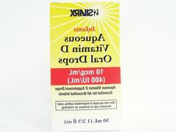 SILARX INFANTS AQUEOUS VITAMIN D ORAL DROPS 400 IU/mL 1 2/3