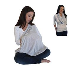 Infinity Nursing Scarf Breastfeeding Cover Ultra Soft Premiu