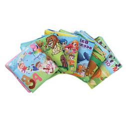 Intelligence Development Baby Cloth Book Educational Bed Toy