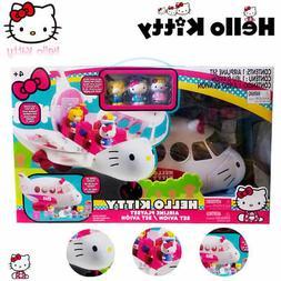 Jada Sanrio Hello Kitty Airline Playset Action Figures Doll