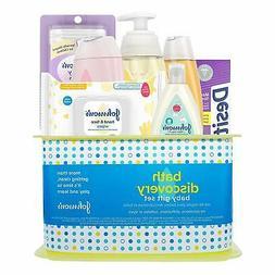 Johnson's Bath Discovery Baby Gift Set, Baby Bath Time Essen
