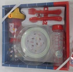 Kansas City Chiefs Football Baby Bottle Toddler Dishes Silve