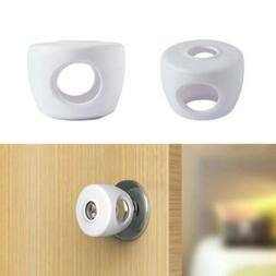Kid Baby Door Knob Safety Cover Child Proof Lockable Drawer