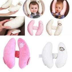 Kid Head Neck Support Baby Car Seat Pillow Trolleys Adjustab