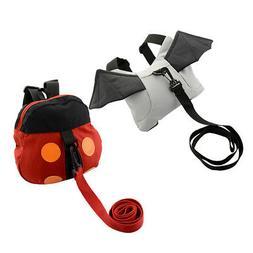 Kid Safety belt Backpack Bag  ladybug Anti-lost Walking Wing