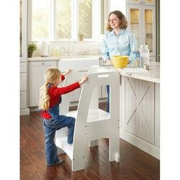 Kid Step Stool Ladder Kitchen Stand Teen Child Toddler Infan