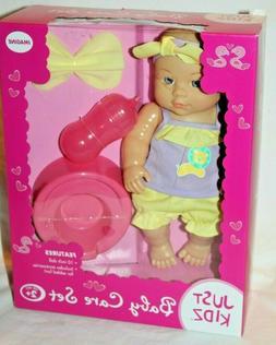 Just Kidz Kids Baby Doll Baby Care Set
