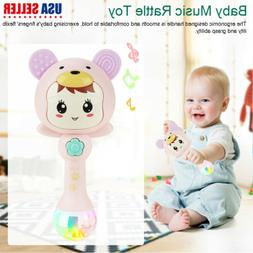 Kids Baby Electronic Music Rattle Toys Cute Cartoon Infant S