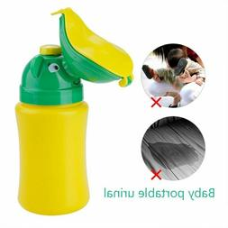 Kids Baby Portable Urinal Potty Emergency Camping Car Travel