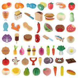 Kids/Baby Preschool Magnetic Fruits/Vegetables Food Cutting