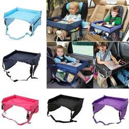Kids Baby Safety Waterproof Travel Tray Drawing Board Car Se