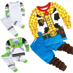 Kids Boys Baby Toys Story Buzz Lightyear and Woody Sets Slee