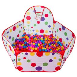 Kids Boys Girls Educational. Large Ball Tent Baby Toy Stages